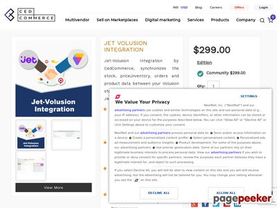 http://cedcommerce.com/volusion-extensions/jet-volusion-integration website snapshot