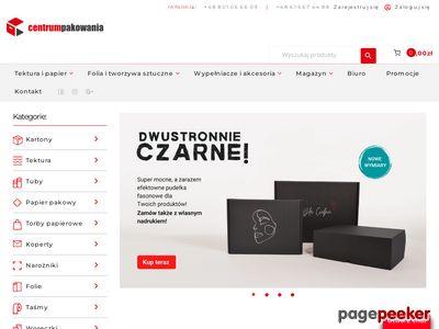 Opakowania kartonowe Poznań