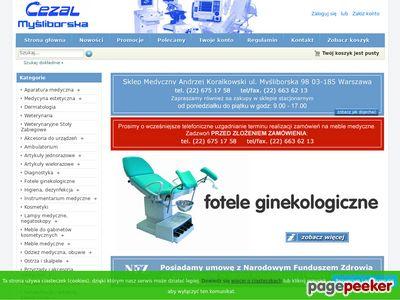 Fotele ginekologiczne .:. cezal.net.pl