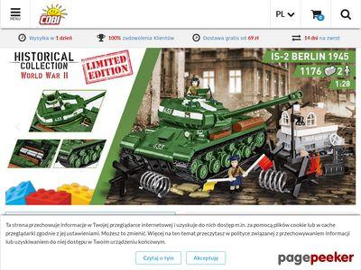 Sklep z zabawkami Cobi.pl