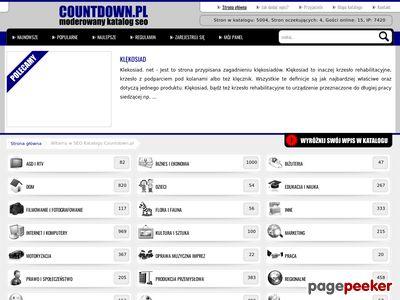 Countdown Katalog Stron
