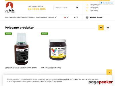 Defelle - sklep dla hodowców gołębi