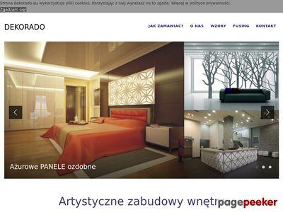 DEKORADO - dekoracyjne panele ścienne, ażurowe panele 3d