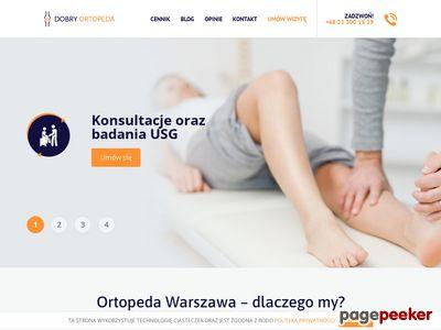 Ortopeda sportowy Warszawa