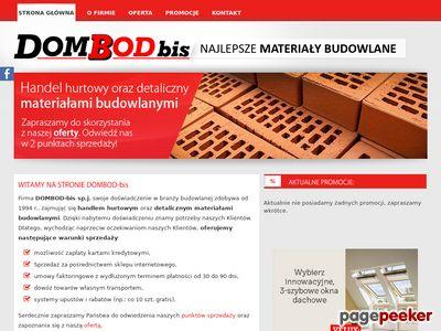 Materiały budowlane - DOMBOD-bis sp. j.