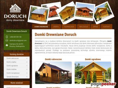 Wielkopolskie domki drewniane
