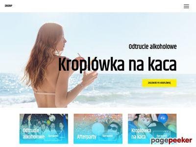 Odtrucie alkoholowe Gdańsk - drdrip.pl