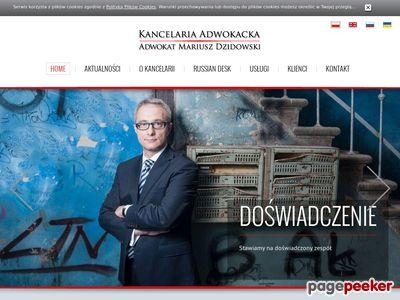 Kancelaria adwokacka Mariusz Dzidowski
