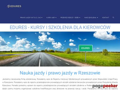 Prawo jazdy - Kurs na Prawo Jazdy Rzeszoacute;w, nauka jazdy EDURES
