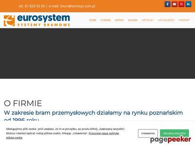 Eurosystem - bramy garażowe Poznań