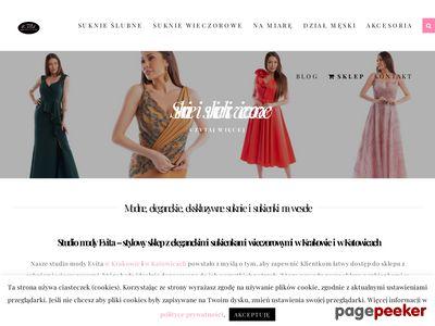 Evita suknie ślubne Tychy