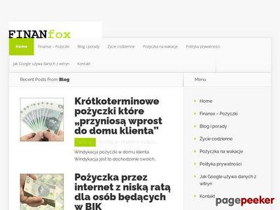 Finan Fox Forum