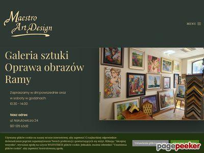 Galeria obrazów - Maestro Art Design Łódź