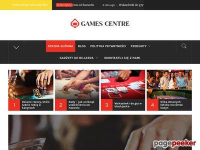 Dart, poker, piłkarzyki, bilard - sklep internetowy