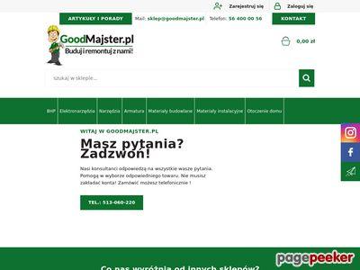 Goodmajster.pl - sklep budowlany internetowy