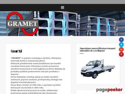 Sprzedaż wyrobów hutniczych - Gramet