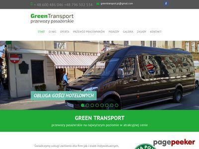 GREENTRANSPORT - transport osób Poznań i okolice