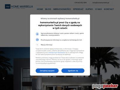Hiszpania biuro nieruchomości Andaluzja - Home Marbella