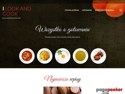Ilookandcook - modna strona kuchni
