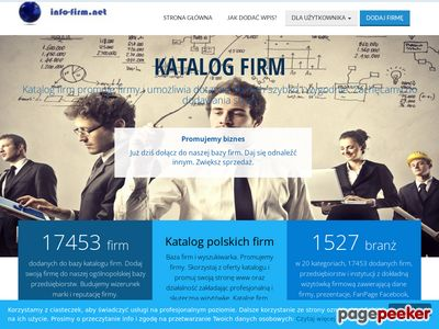 Miniatura Baza firm i usług Info-firm.net