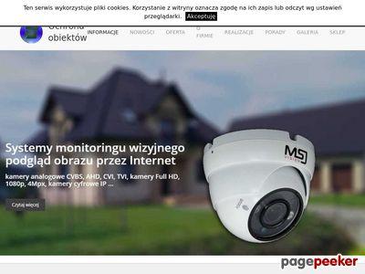 Install-Secure instalacje kamer monitoringu, wideodomofonów