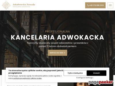 Kancelaria Adwokacka Joanna Jakubowska-Zawada