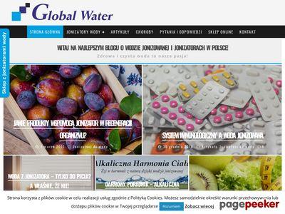 GLOBAL WATER Wysypka od wody