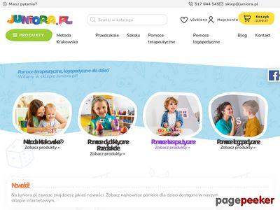 Sklep z pomocami terapeutycznymi juniora.pl