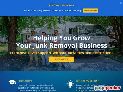 Details : Junk Removal Franchise | Be Your Own Boss | Junk Removal Authority