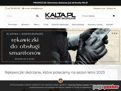 Kalta.pl - rękawiczki skórzane