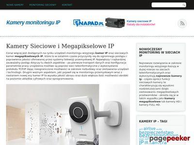 Kamery sieciowe IP