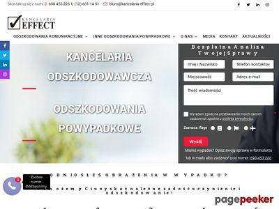 Kancelaria Effect - Odszkodowania Powypadkowe