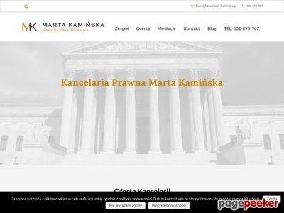 Kancelaria Prawna Marta Kamińska