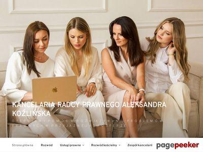 Kancelaria Prawna Aleksandra Koźlińska