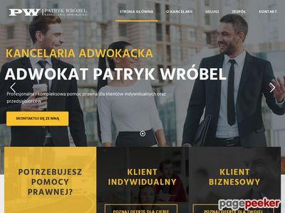 Kancelaria Adwokacka Adwokat Patryk Wróbel
