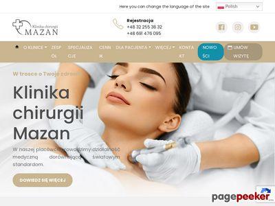 Chirurgia plastyczna - Klinika Mazan
