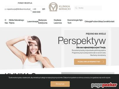 klinikamiracki.pl - Klinika medycyny estetycznej Warszawa