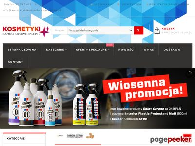 Kosmetykisamochodowe.sklep.pl