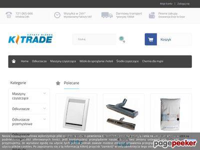 Maszyny czyszczące - K-Trade