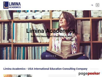 Details : Limina Academics - USA International Education Consulting Company