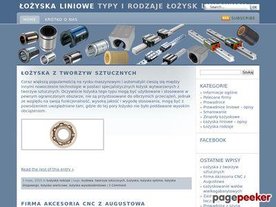 Lozyska-liniowe.com.pl - zastosowanie łożysk
