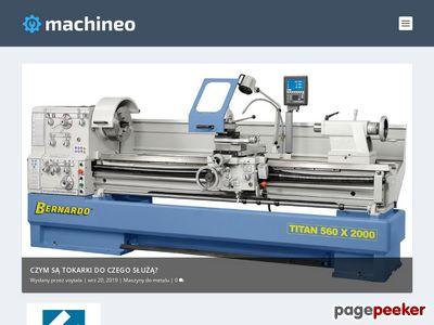 Machineo.pl - wszystko o maszynach