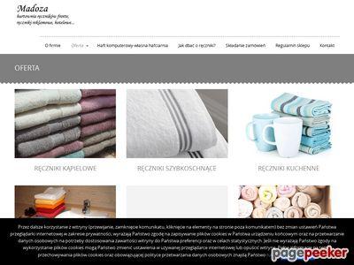 Ręczniki hotelowe Madoza