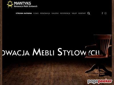 Mantyks.pl Naprawa i Renowacja Mebli