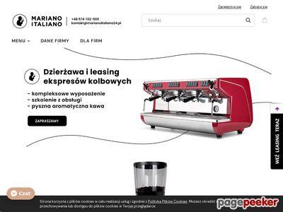 Ekspresy do kawy i akcesoria - Marianoitaliano24.pl
