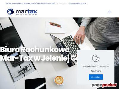 """Biuro Rachunkowe Jelenia Góra """"Mar-Tax"""""""