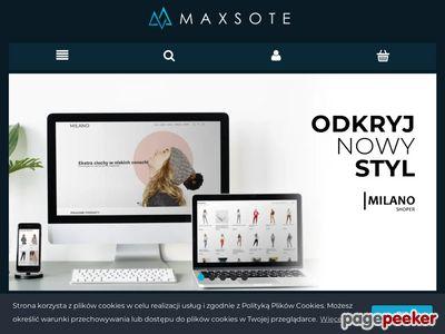 MaxSote - Sklepy internetowe