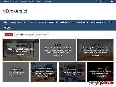 Portal Finansowy mBrokers.pl