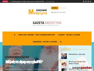 Medycyna i Zdrowie - praktyczny portal na temat zdrowego stylu życia