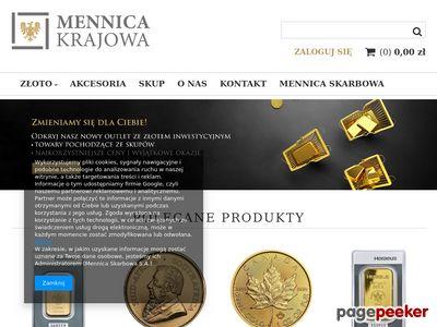 Mennicakrajowa.pl - sklep dla numizmatyka